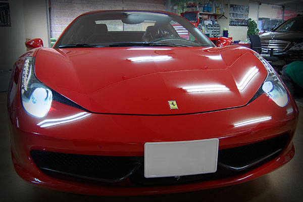 フェラーリ・458 イタリア HIDバルブ 8000K