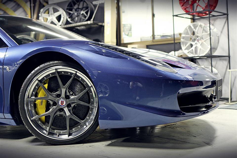 フェラーリ 458 HRE アルミホイール