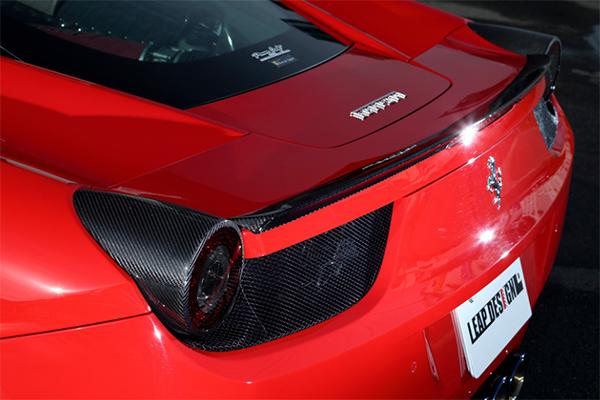 フェラーリ・458 イタリア エアロパーツ LEAP DESIGN(リープデザイン)