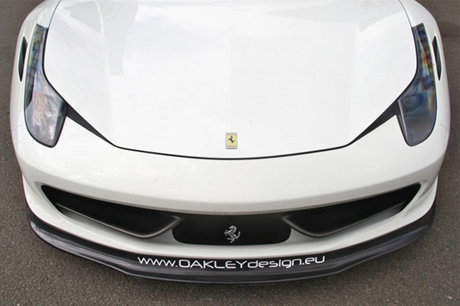 フェラーリ・458 イタリア エアロパーツ Oakley Design オークリーデザイン
