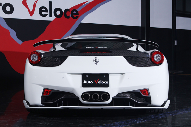 フェラーリ・458 イタリア エアロパーツ SVR
