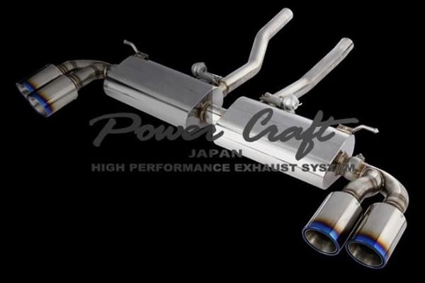 Power Craft(パワークラフト) ポルシェ・カイエン マフラー/エキゾースト