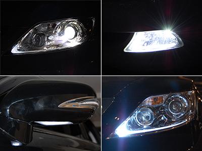 レクサス HID LED ライト カスタム