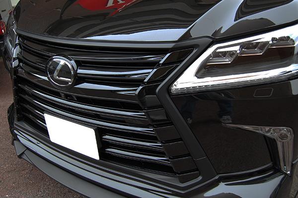レクサス・LX メッキパーツブラック塗装