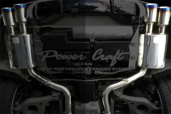Power Craft(パワークラフト) ポルシェ・パナメーラ マフラー/エキゾースト