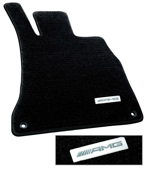 ベンツ W222 AMG フロアマット プレミアム