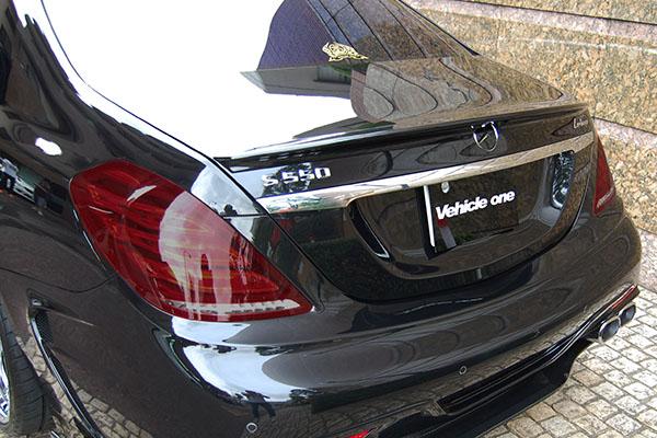 ベンツ W222 テールライトスモーク塗装