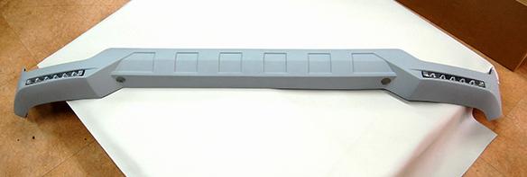 ベンツ Gクラス(W463)G63/G65 フロントバンパー用 LED付フロントリップスポイラー