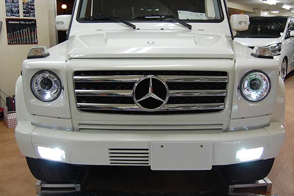 Gクラス W463 ゲレンデ LEDフォグランプ