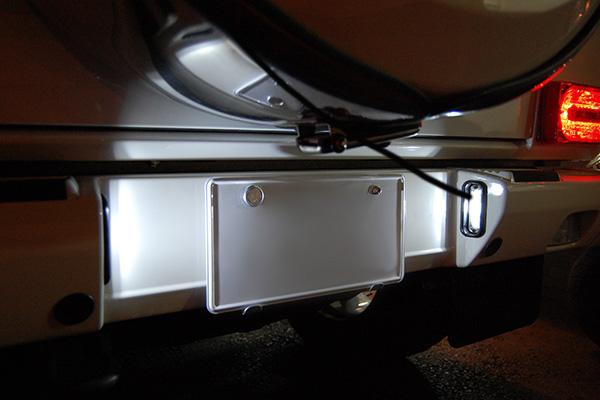 Gクラス W463 ゲレンデ LEDナンバー灯(ライセンス灯)