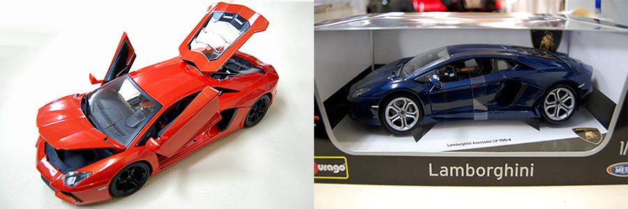 burago ブラーゴ 1/18 ランボルギーニ アヴェンタドール Aventador LP700-4