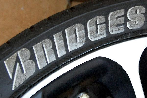 タイヤレター